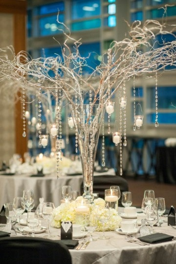 imagenes de decoracion de mesa de matrimonio