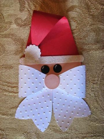 como hacer adornos navideños de papel