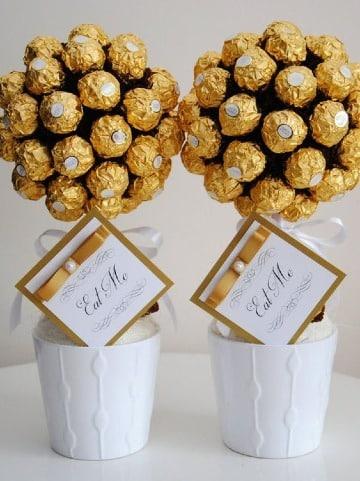 como hacer regalos para bodas de oro