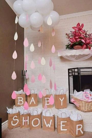 como hacer un baby shower sencillo