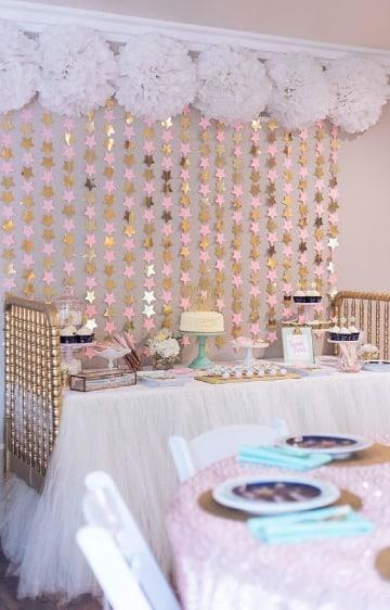 decoraciones simples para cumpleaños de niña