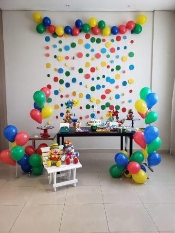 decoraciones simples para cumpleaños de niño