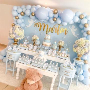 fotos de decoracion para bautizo niño