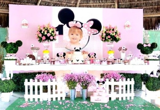 ideas de decoracion de minnie bebe