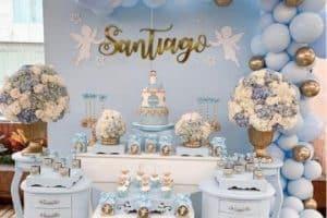 Increíbles ideas de decoracion para bautizo niño