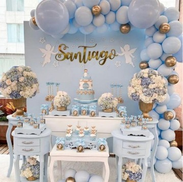 ideas de decoracion para bautizo niño