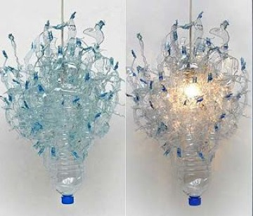 ideas de faroles de botellas plasticas