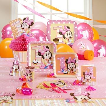imagenes de decoracion de minnie bebe