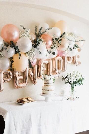 originales decoraciones simples para cumpleaños