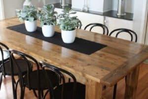 4 tipos centros de mesa de comedor