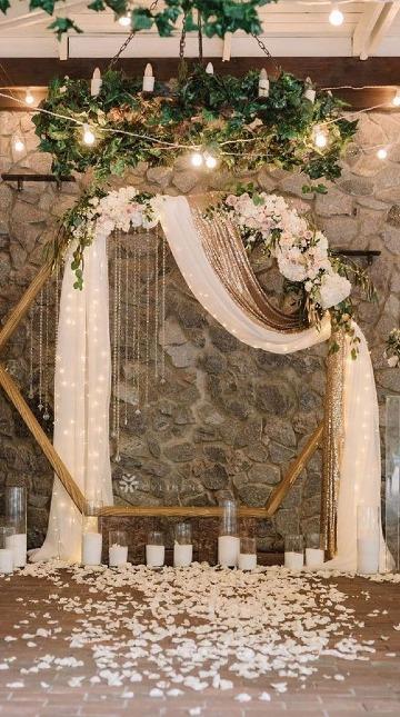 como hacer decoraciones de matrimonio en casa
