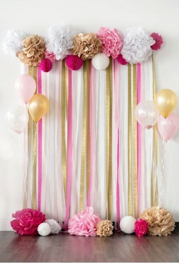 decoracion sencilla para cumpleaños con globos
