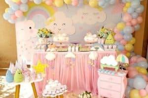 Hermosos estilos de decoracion de fiestas para niñas