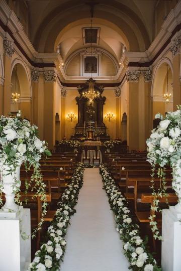 ideas de decoracion de iglesia para boda