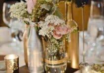 4 elegantes ideas  de decoracion de mesa para matrimonio
