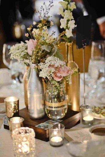 ideas de decoracion de mesa para matrimonio