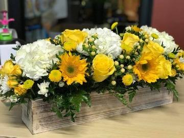 imagenes de arreglos florales con girasoles