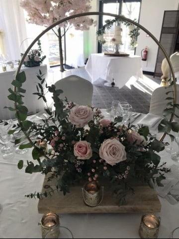 imagenes de centros de mesa para matrimonio