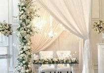 Hermosas decoraciones de matrimonio en casa