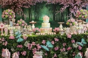 4 imagenes de decoracion para baby shower mujer