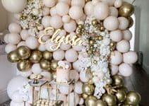 4 geniales ideas para una decoracion con globos metalicos