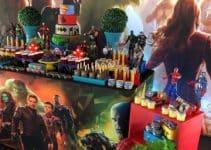 4 super ideas para una decoracion de avengers para cumpleaños