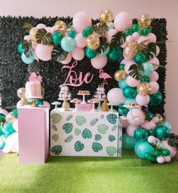 fiesta tematica tropical para chicas