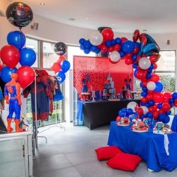 fotos de decoracion del hombre araña