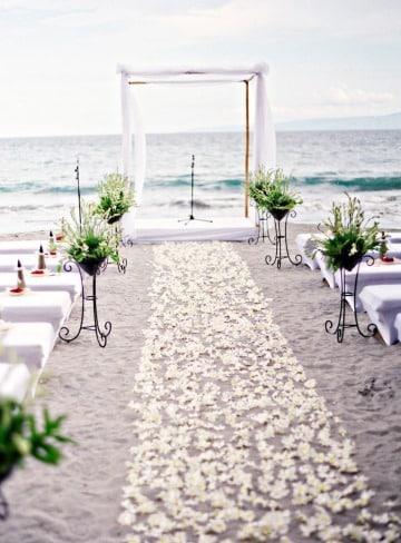 fotos de matrimonios simbolicos en la playa
