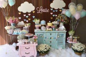 4 ideas para hacer una decoracion de mesa de baby shower