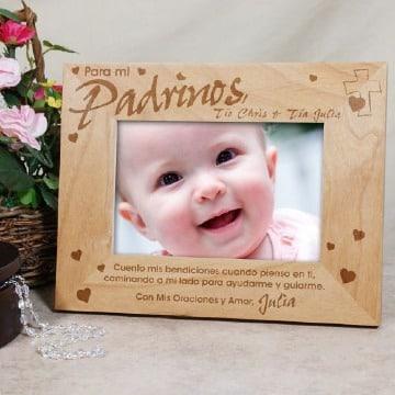imagenes de recuerdos para padrinos de bautizo