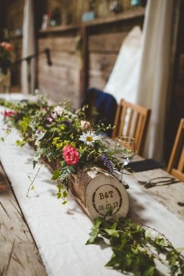 imagenes de decoracion boho chic bodas