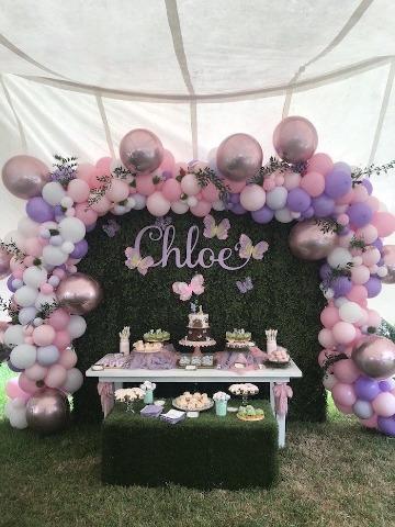 linda decoracion para baby shower mujer