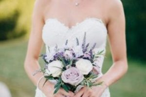4 hermosos estilos de bouquet de novia pequeños