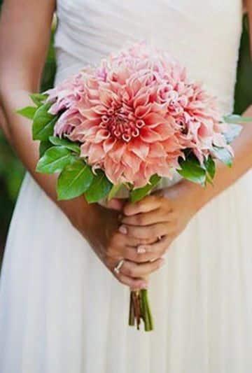bouquet de novia pequeños con flores de colores