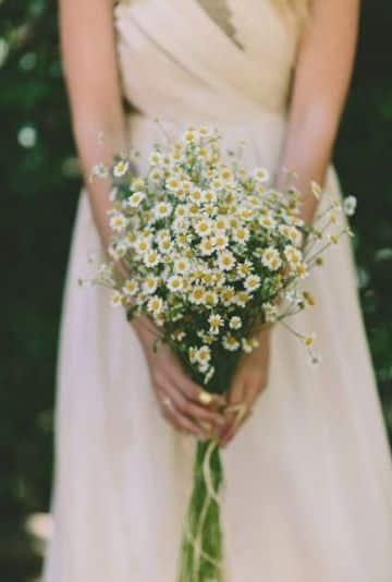 bouquet de novia pequeños con tallo