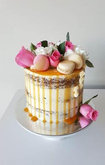 decoracion de tortas de cumpleaños para mujeres mayores