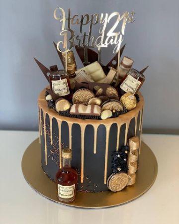 decoracion de tortas para hombres adultos