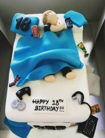 decoracion de tortas para hombres faciles