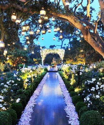 ideas de bodas romanticas al aire libre