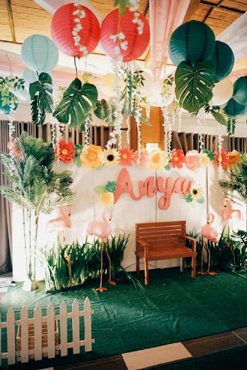 ideas de fiesta hawaiana para niños