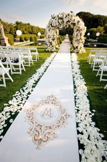 imagenes de bodas romanticas al aire libre