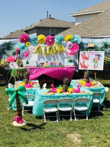imagenes de fiesta hawaina para niños