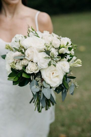 ramos de novias flores blancas naturales