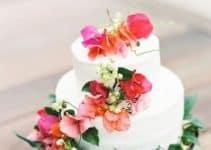 4 tortas con flores naturales para deleitarse
