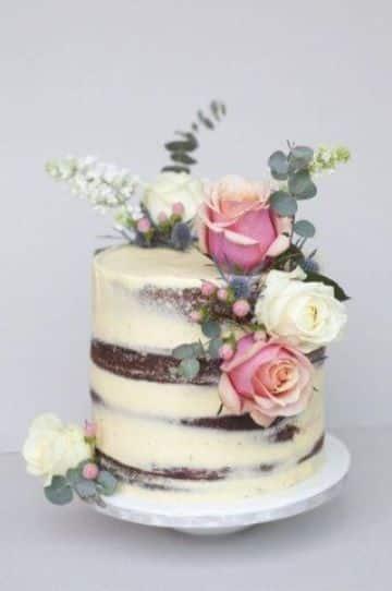 tortas de flores para cumpleaños de adolescentes