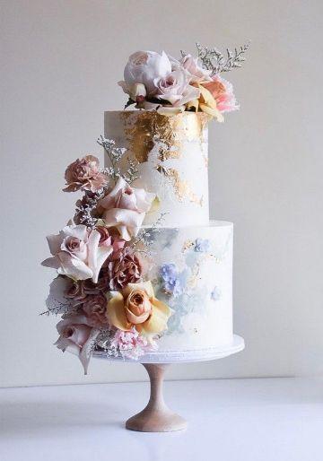 tortas de flores para cumpleaños de mama