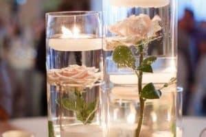 4 ideas para hacer centros de mesa boda con velas