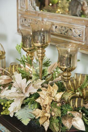 decoraciones navideñas 2019 con velas