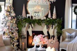 4 ideas para decorar salon para navidad